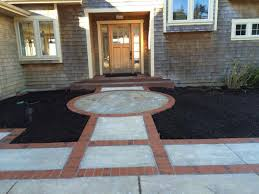 pathway flatwork steps the garden angels