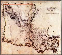 Map Of Plantations Near New Orleans by Early Exploration And Settlement Of The Lower Calcasieu Watershed