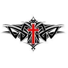 39 best cross tribal stencils images on cross