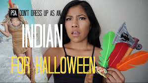 psa don u0027t dress up as an indian for halloween seukteoma youtube