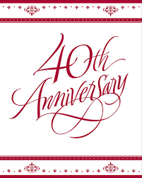 what is 40th wedding anniversary 40 year wedding anniversary wedding wording by theme family