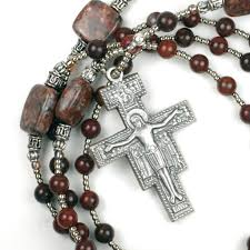 franciscan crown rosary the peace prayer of st francis rosary
