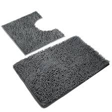 Bathroom Floor Rugs Vdomus Absorbent Microfiber Bath Mat Soft Shaggy