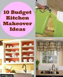 cheap kitchen makeover ideas cheap kitchen decorating ideas kitchen makeovers on a budget