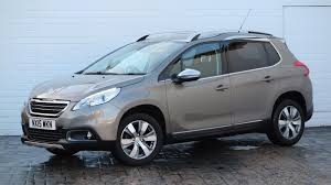 used crossover cars used 2015 peugeot 2008 2015 15 peugeot 2008 crossover 1 2 vti