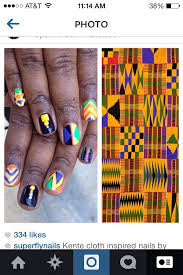 28 best nails with african prints images on pinterest