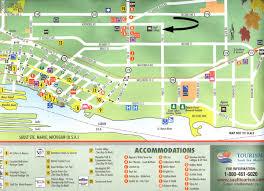 map of mackinac island sault ste tourist map sault ste ontario mappery