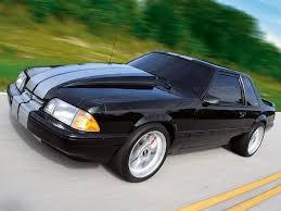 Black Mustang Stripes Fox Body Mustang 10