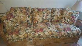 Rattan Sleeper Sofa Estate Tag Sale Inside Private Home In New Smyrna Beach Fl Starts
