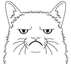 coloring pages dog elegant grumpy cat coloring pages coloring