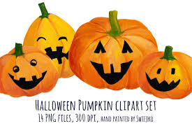 clip art unique painted pumpkins u2013 clipart free download
