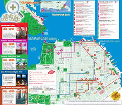 san francisco map for tourist big san francisco map map of usa states