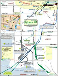 Boston T Train Map by Baltimore Railfan Guide Map 10 East Baltimore