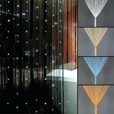 Diy Curtain Room Divider by Wood Room Dividers Partitions Beaded String Curtain Divider Tassel