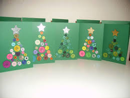 unique handmade christmas cards with beautiful buttons explore