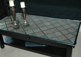 creations by christie pressed tin coffee table