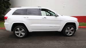 2014 jeep grand v8 2014 jeep grand overland 5 7l v8 white ec351227