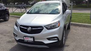 buick encore silver 2017 buick encore sport touring edition apple car play silver