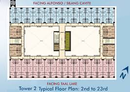 attractive car floor plan 1 smdc wind residences tagaytay