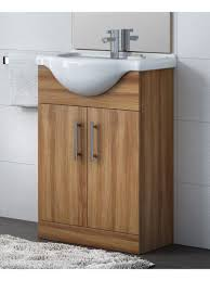 65cm vanity unit walnut