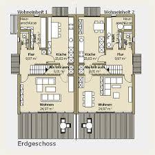 doppelhaus architektur architektur grundrisse doppelhäuser