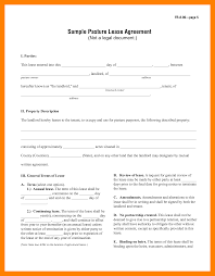 Notice Of Termination Of Rental Agreement by 9 1 Page Rental Agreement Reference Format