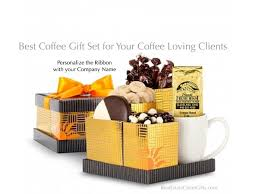best coffee gift set realtor gift ideas