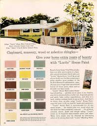 paint schemes for houses exterior colors for 1960 houses 1960s house and mid century