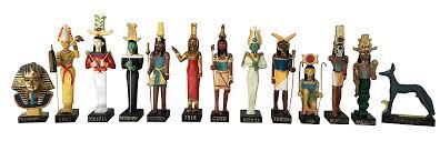 ancient god 13 figurines set resin