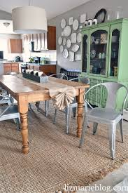 rustic dining room decor exciting rustic dining table with burlap table runner for