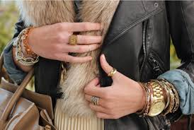Monogram Rings Gold Everythang But The Furrr Because I Can U0027t Go Pinterest