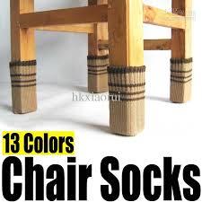 Chair Feet Covers Chair Floor Protectors 16pcs Silicone Chair Leg Caps Feet Pads