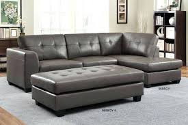 Tufted Sectional Sofa Chaise Italian Leather Sectional Sofa Chaise Modern Small Tufted Grey
