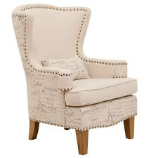 funiture accent chair whit oval back and arm for occasional chair