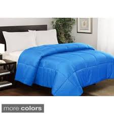 orange down alternative bedding for less overstock com