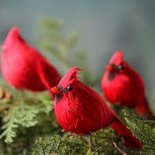 small artificial cardinals birds butterflies basic craft