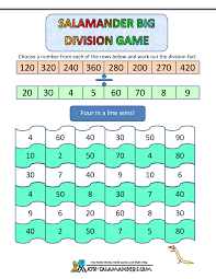 pattern games for third grade division games