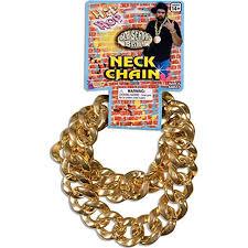 big link necklace images 80 39 s big links neck chain gold toys games jpg