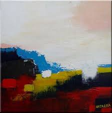 Abstract Landscape Painting by Original Abstract Landscape Painting Modern Art Sold By