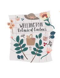 visual communication design massey kate bennett design portfolio wellington botanical gardens