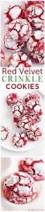 red velvet crinkle cookies from scratch these cookies are