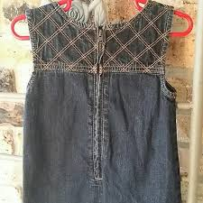 old navy clearance old navy blue jean dress from bianca u0027s closet