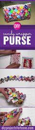 ridiculously cute diy candy wrapper purse candy wrapper purse