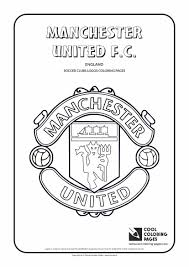 manchester united f c logo coloring page cool coloring pages