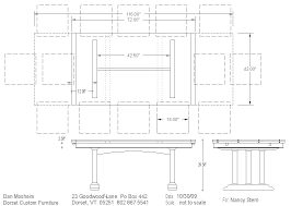 Dimensions Of Dining Table Home And Furniture - Dining table dimensions for 8