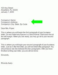 example of inside address in business letters the best letter sample
