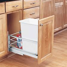 Kitchen Cabinet Garbage Drawer Diy Pull Out Garbage Can