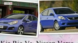 nissan versa for uber kia rio vs nissan versa youtube