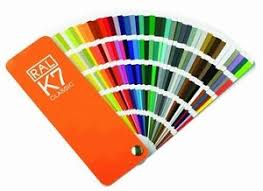 powder coating ral colours fan deck colour chart swatch