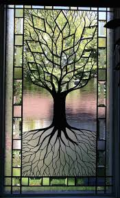 tree of stained glass window i think i can do this maybe